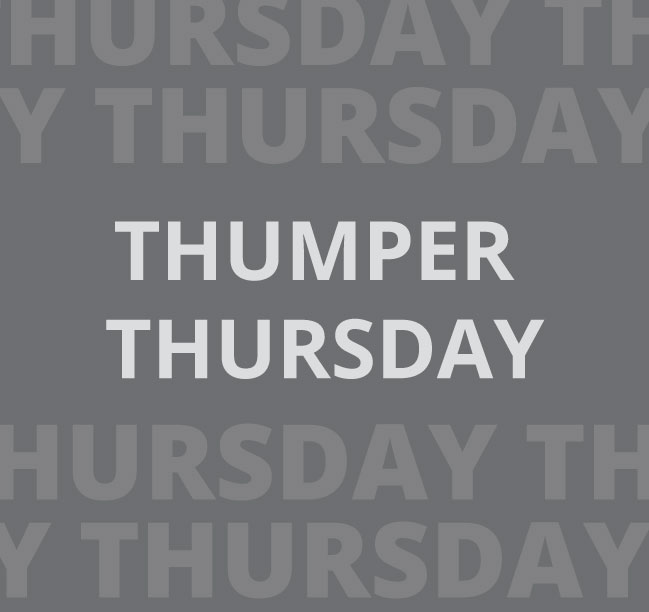 Thumper Thursday